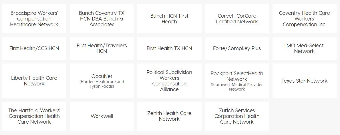 Workers Compensation Networks