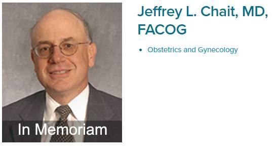 Jeffrey L. Chait