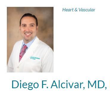 Alcivar, Diego F, MD, FACC