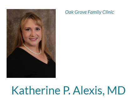 Alexis, Katherine P, MD