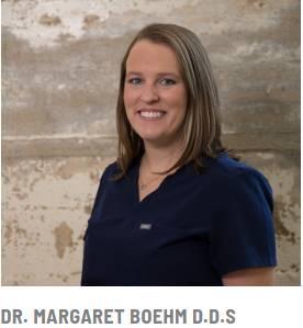 Dr. Margaret Boehm D.D.S