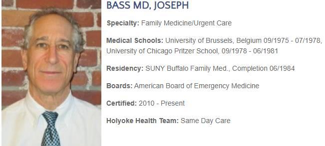 BASS MD, JOSEPH