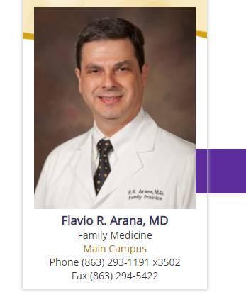 Flavio R. Arana, MD