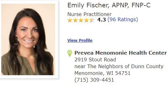 Emily Fischer, APNP