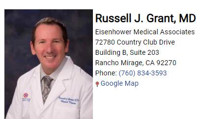 Grant Russell J, MD