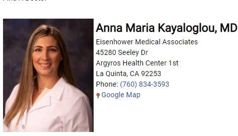 Anna Maria Kayaloglou, MD