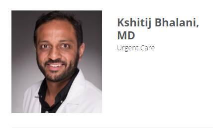 Kshitiji Bhalani, MD