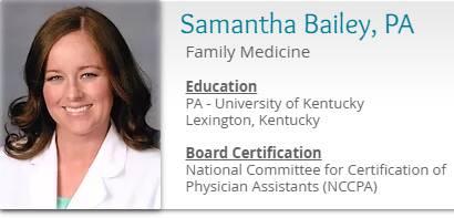 Samantha Bailey, PA