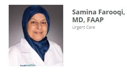 Samina Farooqi, MD, FAAP