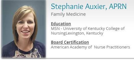 Stephanie Auxier, APRN
