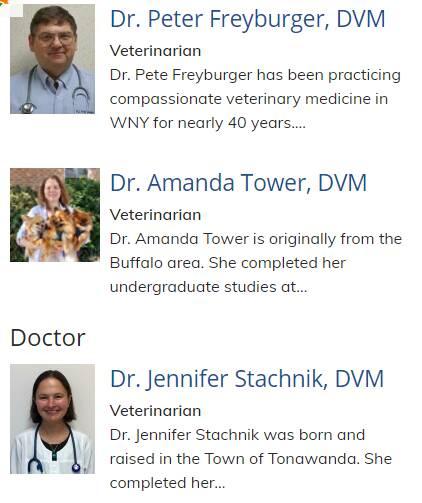 Kenton Animal Clinic Doctors