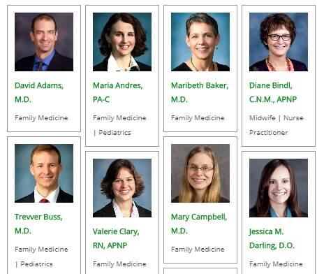 Prairie Clinic Doctors