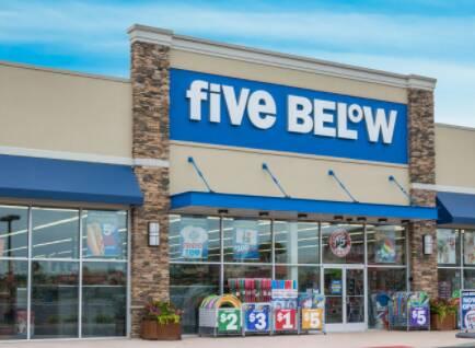 Five-Below-Hours
