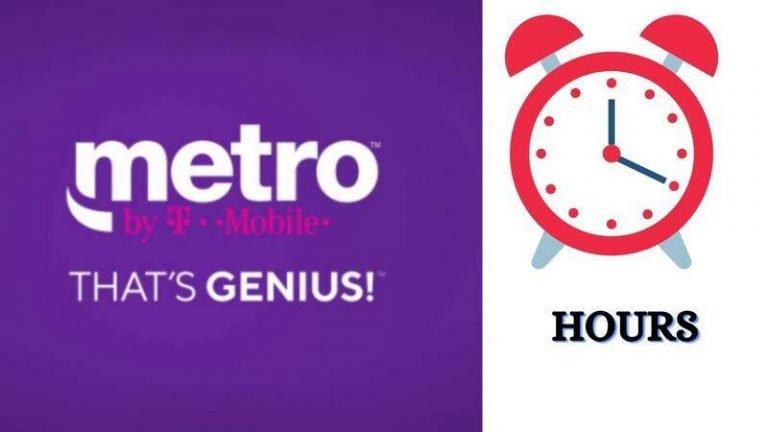 MetroPCS Hours