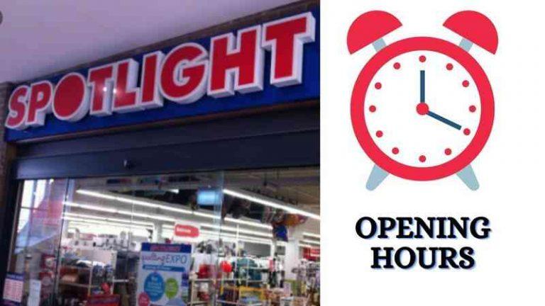 Spotlight opening Hours