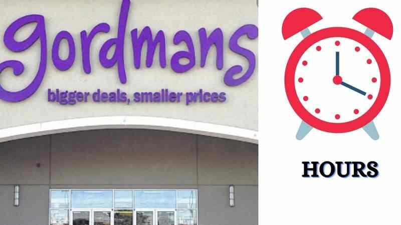 Gordmans Hours