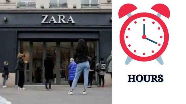 Zara Hours