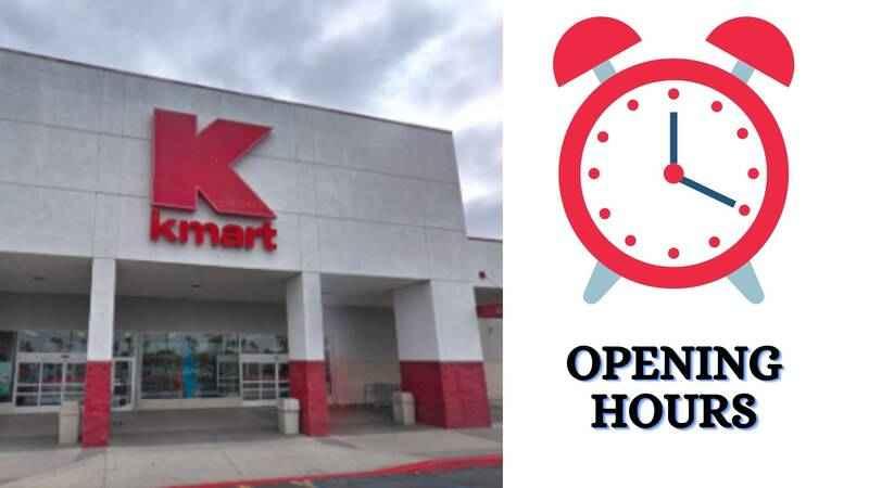 Kmart Opening Hours
