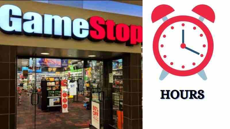 Gamestop Hours