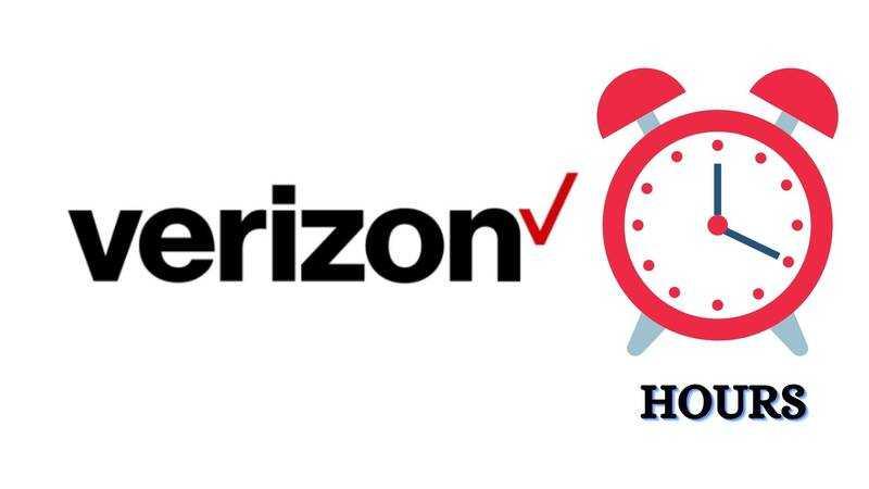 Verizon Store Hours