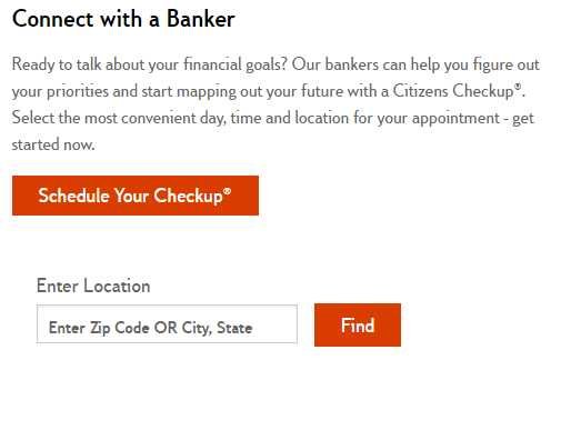 Citizens Bank Hours