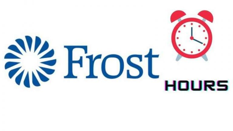 Frost Bank Hours