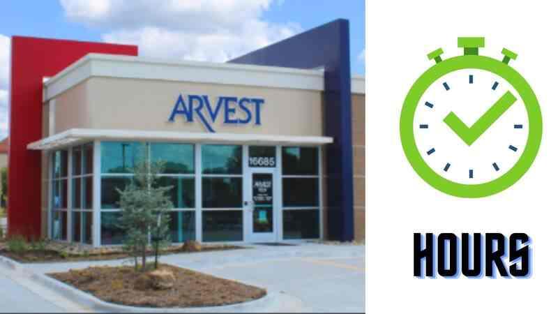 Arvest Bank Hours