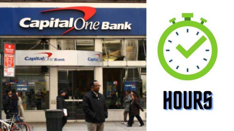 Capital One Hours