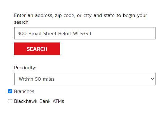 Blackhawk Bank hours