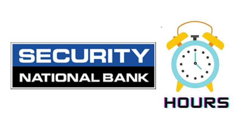 Security National Bank Hours