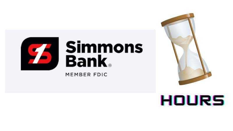 Simmons Bank Hours