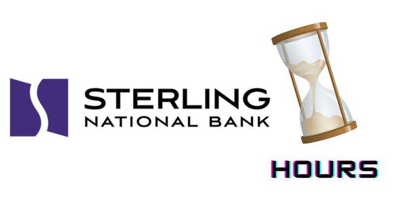 Sterling National Bank Hours