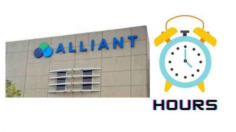 Alliant Credit Union Hours